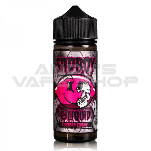Sad Boy Custard Cookie E liquid 100ml Shortfill-E-Liquid-Sad Boy-Andy's Vape Shop