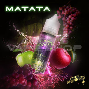 Twelve Monkeys Matata E Liquid 0mg 50ml-E-Liquid-Twelve Monkeys-Andy's Vape Shop