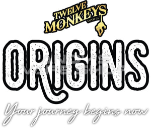 Twelve Monkeys Origins - Papio E Liquid 50ml-E-Liquid-Twelve Monkeys-Andy's Vape Shop