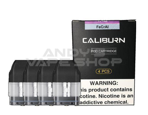 Uwell - Caliburn Replacement Pods-Coils-Uwell-Andy's Vape Shop