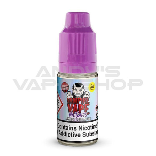 Vampire Vape Sweet Lemon Pie Nic Salts 10ml 20mg-E-Liquid-Vampire Vape Salts-Andy's Vape Shop