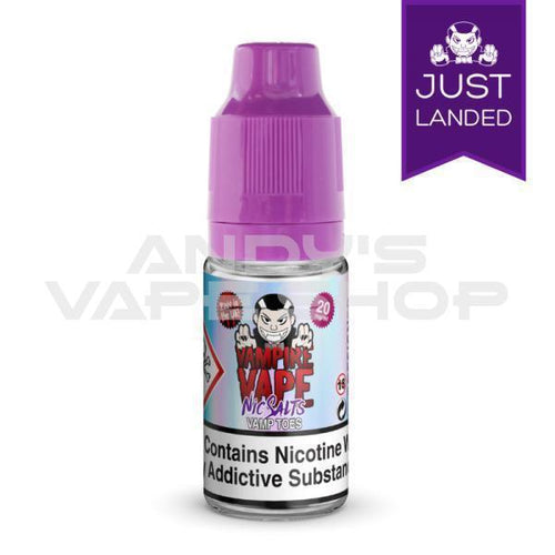 Vampire Vape Vamp Toes Nic Salts 10ml 10mg-E-Liquid-Vampire Vape Salts-Andy's Vape Shop