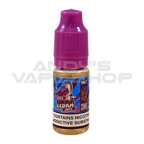 Zebra Salt - Sweet Tobacco 10ml 10mg-E-Liquid-Zebra Salt-Andy's Vape Shop