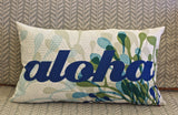 Turtle Bay Aloha Pillow