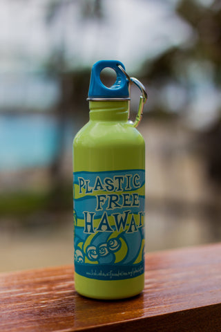 Plastic Free HI Water Bottle