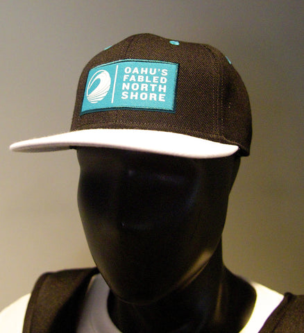 Oahu's Fabled North Shore Snap-back cap