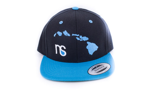 Islands / NS Logo Snap back BLK/ Turq