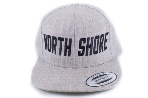 NORTH SHORE Snap back - Gray