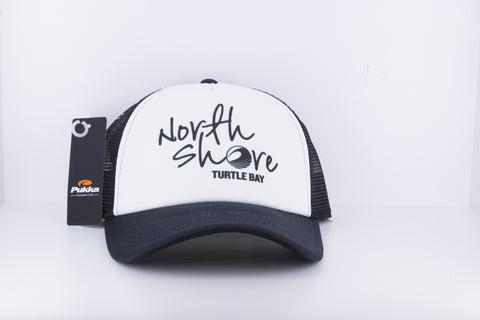 Pukka - North Shore Logo Hat - Black / White