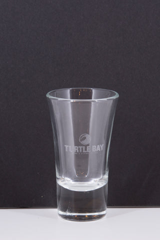 Etched Shot Glass