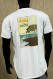 NSWS- Retro travel tee - White