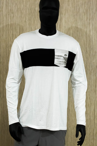 NSWS LONE SURFER Long Sleeve - White