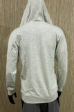 Turtle Bay Resort bamboo logo hoodie - White heather - Mens
