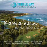 HANA HOU GOLF 1-YEAR MEMBERSHIP