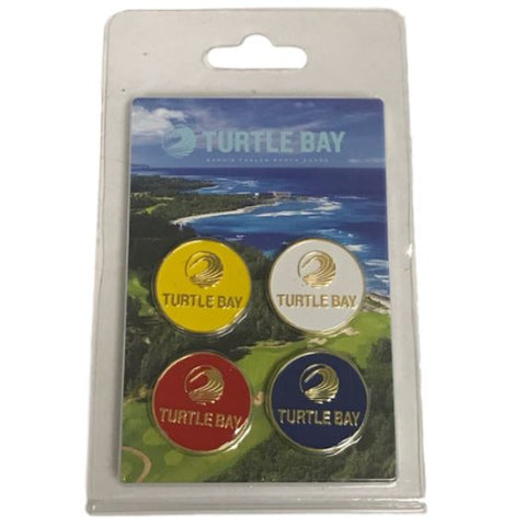 Champion Golf 4pc Ball Marker