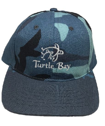 Legendary Blue Camo Hat