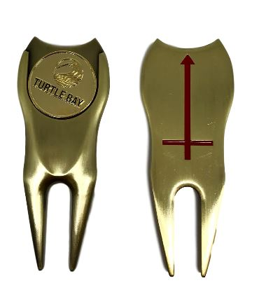 Red Arrow Divot Tool