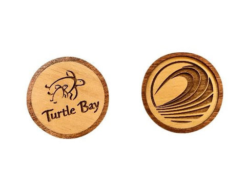 Wooden Ball Marker