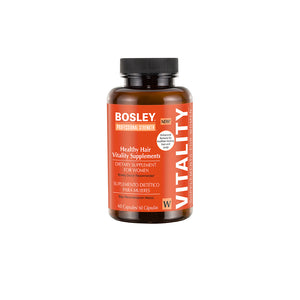 Bosley Professional Healthy Hair Vitality Supplement For Women - 60 count