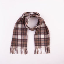 Load image into Gallery viewer, Lambswool Scarf - Natural Dress Stewart