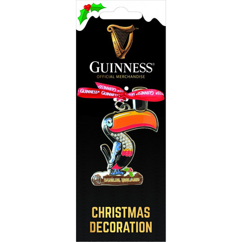 Guinness Toucan Metal Christmas Ornament
