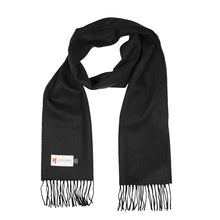 Load image into Gallery viewer, Merino Luxury Wool Scarf - 112 Solid Black