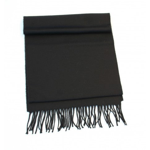 Long Merino Wool - 112 Solid Black
