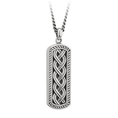 Solver Stirling silver I got gents pendant gents