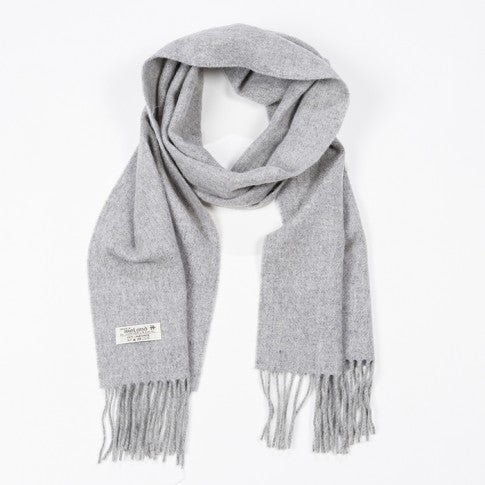 Long Lambswool Scarf - 598