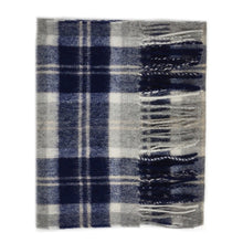 Load image into Gallery viewer, 100% Lambswool Scarf - Silver Bannockbane