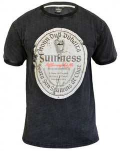 Guinness Distressed Gaelic Label Tee