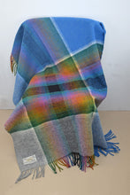 Load image into Gallery viewer, Irish Hand Woven Plaid Throw