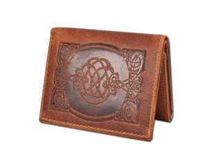 sean leather wallet brown