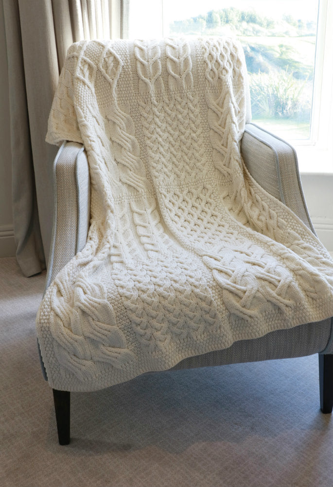 Supersoft Merino Patch Throw