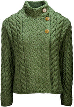 Load image into Gallery viewer, Supersoft Merino Wool Button Neck Cardigan