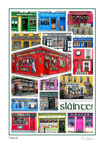 Pubs of Ireland Card