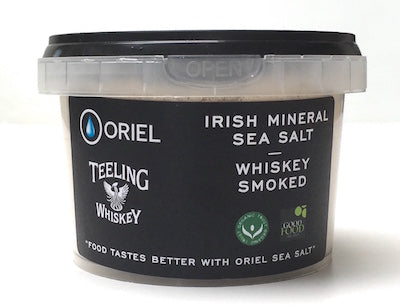 teeling irish mineral sea salt ireland whiskey smoked