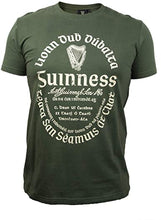 Load image into Gallery viewer, Guinness Khaki Gaelic Label Tee