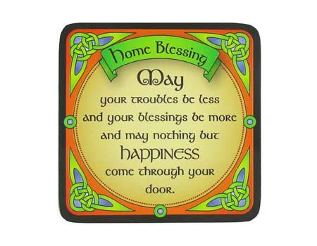 Home Blessing Coaster
