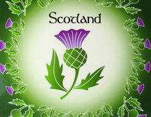 Load image into Gallery viewer, Scotish Thistle Coaster