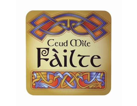 Scotish Ceud Mile Failte Coaster