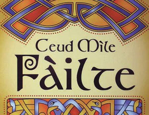 Scottish Ceud Mile Failte Coaster