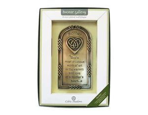 bronze Mother plaque ireland
