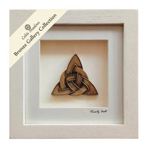Cream Framed Trinity Knot