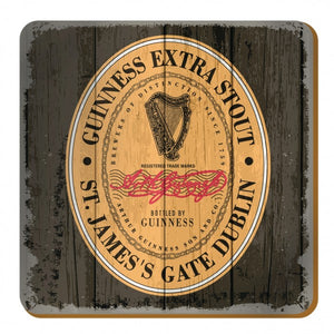 Guinness Nostalgic Label Coaster
