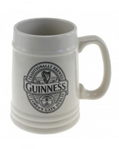 Guinness Cream Embossed Tankard