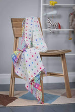 Load image into Gallery viewer, Foxford Rainbow Spot Baby Blanket