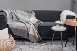 Foxford Downpatrick Cashmere Throw