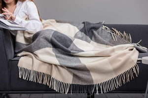 Foxford Pontoon Cashmere Throw