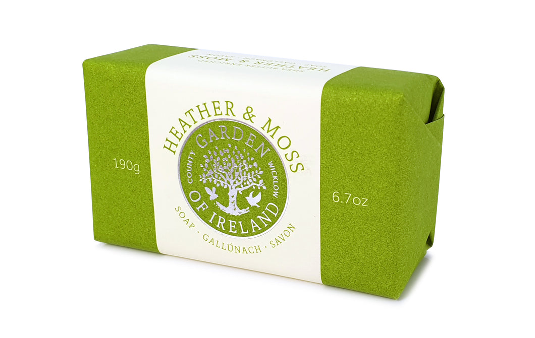 Garden Of Ireland Heather & Moss Soap
